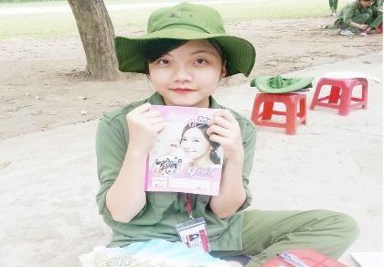 Nữ sinh 'cống hiến tuổi trẻ cho cuộc sống này'