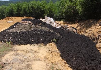 Chất thải từ Formosa được chôn lấp ở trang trại của giám đốc công ty môi trường