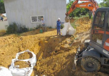 Chưa xử lý được 1.000 tấn chất thải của Formosa Hà Tĩnh