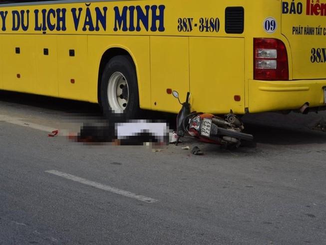 Xe tải tông chết người trên quốc lộ 1A rồi bỏ chạy