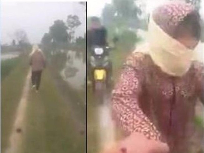Công an truy tìm người tung clip bắt giữ một phụ nữ
