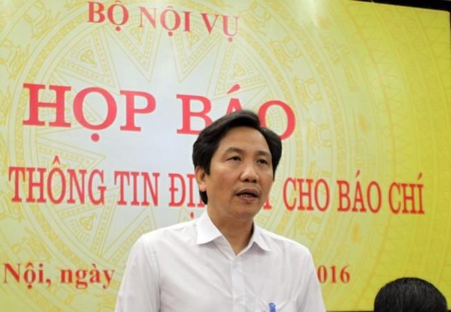 'Mong báo chí phối hợp chặt chẽ với Bộ Nội vụ'