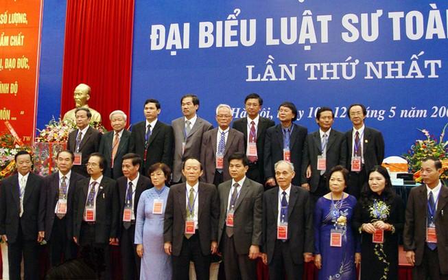 22 luật sư bị xóa tên khỏi liên đoàn luật sư VN