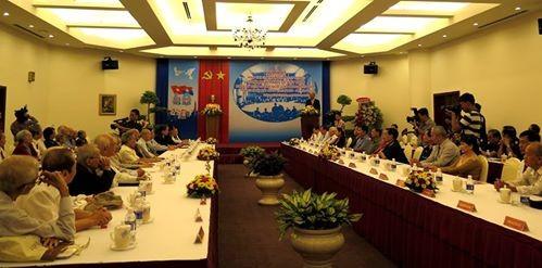 Cuộc gặp đặc biệt của những người tham gia Hội nghị Paris