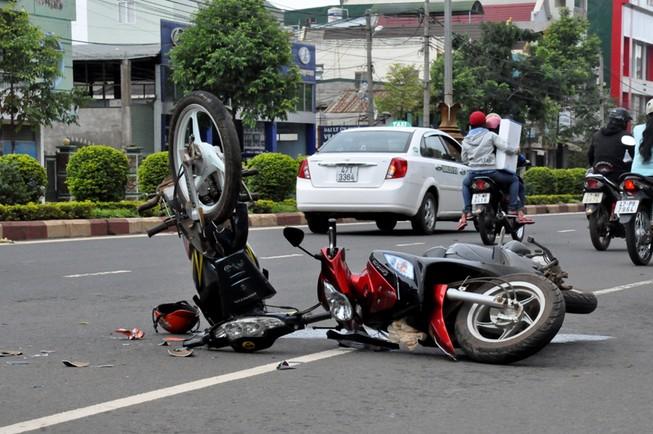 Cứ bốn phút lại có một trẻ em bị chết do tai nạn giao thông