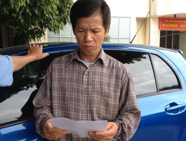 Ông Nguyễn Thanh Chấn đồng ý mức bồi thường 7,2 tỉ đồng