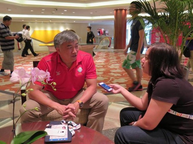 Cục trưởng Thể thao Singapore: 'Chúng tôi cố gắng tiệm cận Olympic'
