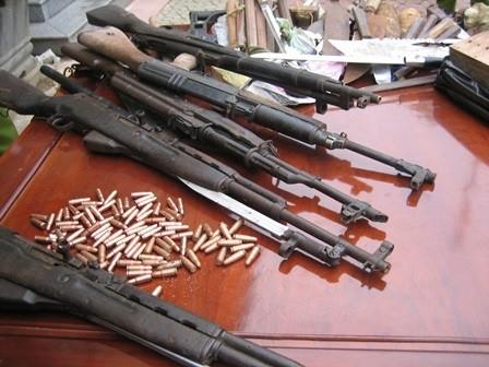 TP HCM siết quản lý vũ khí, vật liệu nổ