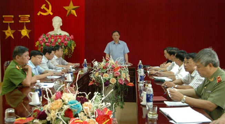 Thảm sát Yên Bái: Công an tỉnh đang họp báo thông tin về vụ án