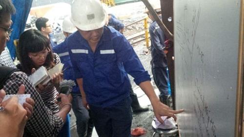 Bục túi nước trong lò than, 1 người chết, 1 người mất tích