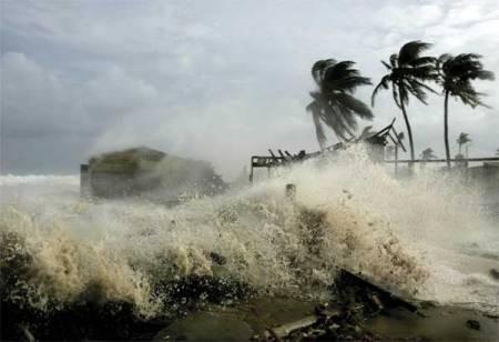 Cảnh báo bão, lũ tại các tỉnh miền Trung-Tây Nguyên