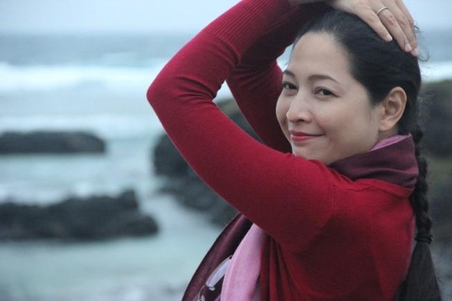 MC Quỳnh Hương và 'An nhiên mà sống'