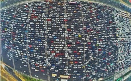 Kẹt xe kinh hoàng ở Bắc Kinh sau nghỉ lễ Quốc Khánh