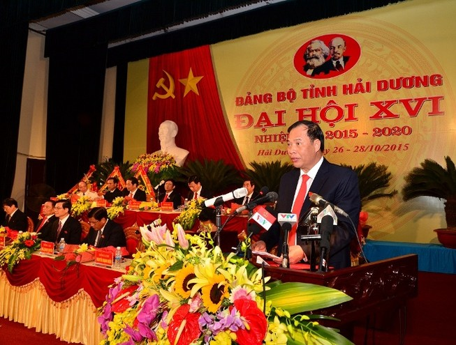 Chủ tịch Hải Dương trở thành tân bí thư Tỉnh ủy