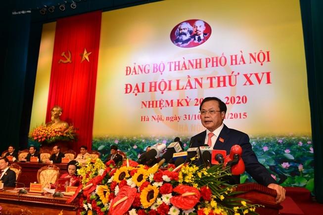 Khai mạc Đại hội Đảng bộ Hà Nội: Chọn người có tư duy đổi mới