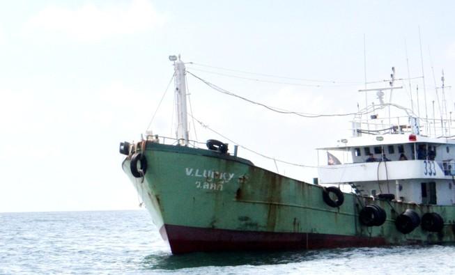 Phát hiện tàu nghi buôn lậu có trang bị vũ khí