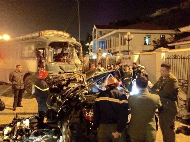 Tai nạn liên hoàn, 1 người chết, 6 người bị thương nặng