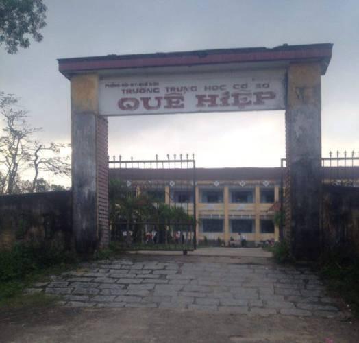 Trộm 'vét' sạch trường tiểu học