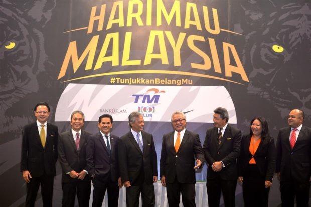 Tuyển Malaysia đổi 'nick' vì… mê tín?