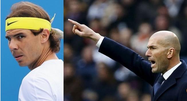 Zidane 'chửi' Rafael Nadal là 'kẻ cơ hội, hèn mọn'