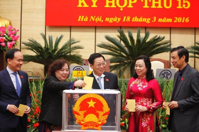 Hà Nội: Chính thức có 3 phó chủ tịch mới