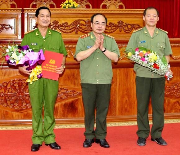 Bộ Công an điều động nhân sự mới
