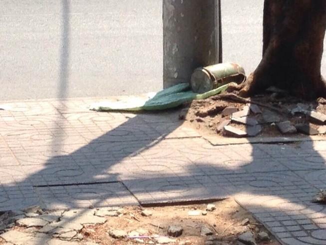 Phát hiện vật lạ nghi là chất nổ ở quận Tân Bình