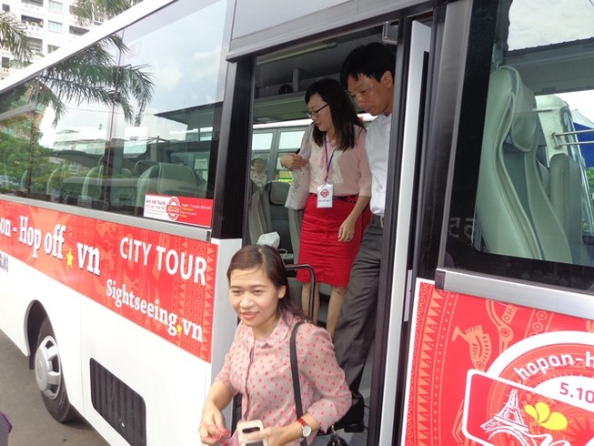 Mở tuyến xe buýt du lịch vòng quanh trung tâm Sài Gòn