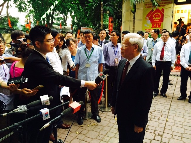 TBT Nguyễn Phú Trọng kỳ vọng các đại biểu hết lòng vì nước vì dân