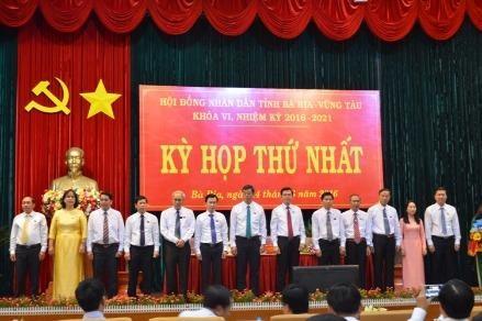 Bà Rịa-Vũng Tàu công bố kết quả bầu cử lãnh đạo UBND tỉnh