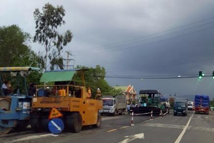 Mở rộng mặt đường quốc lộ 1 từ Đồng Nai đến Phan Thiết