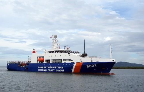 11 tàu cảnh sát biển vẫn khẩn trương tìm kiếm CASA 212