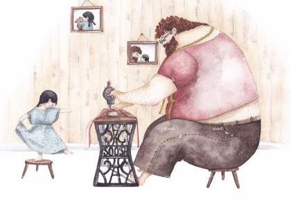 Thêm bộ ảnh gây sốt 'Cha và con gái'