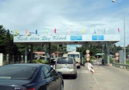 Phan Thiết: Dừng thu phí tại Trạm thu phí Phú Hài từ 1-1-2017