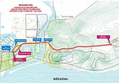 Mở rộng tuyến đường nối Phan Thiết với 'thủ đô resort' Mũi Né