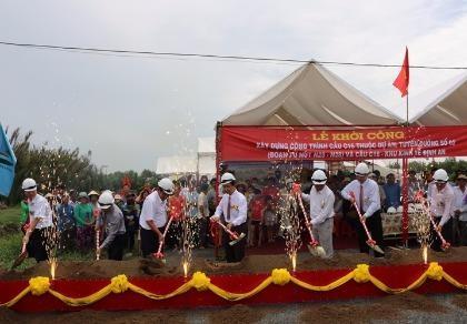 Trà Vinh: Khởi công xây dựng cầu C16 trị giá 330 tỉ đồng