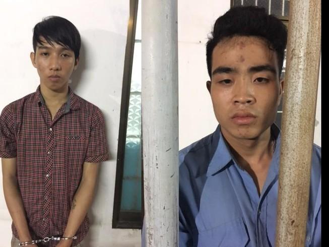 Bắt 2 thiếu niên chỉ sau 8 giờ gây án