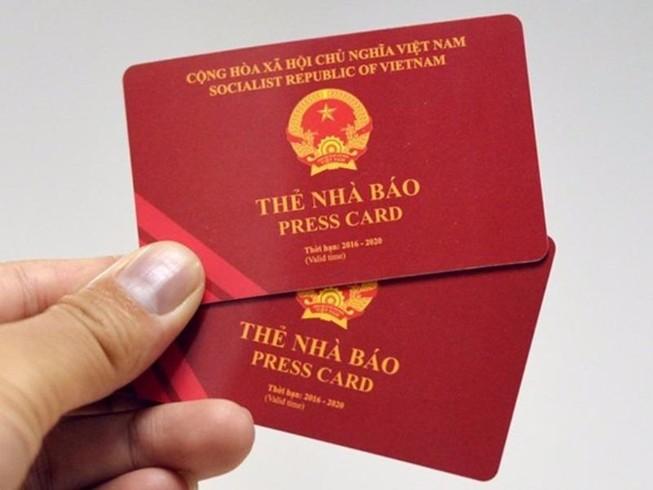 Mới: Điều kiện về cấp, đổi thẻ nhà báo