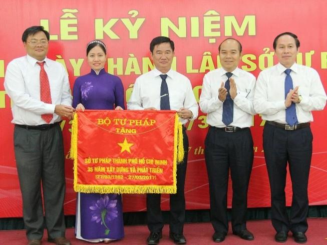 Sở Tư pháp TP.HCM - Lá cờ đầu của ngành Tư pháp