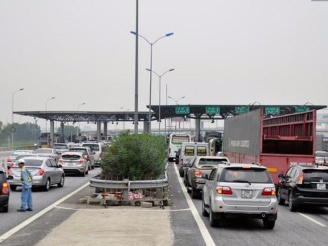 Nộp phí sử dụng đường bộ không cần dừng xe