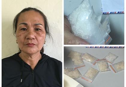 Bắt nữ quái buôn bán ma túy để nuôi chồng nghiện ngập