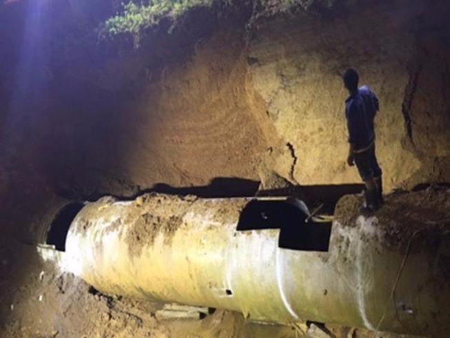 Tìm thấy 2 thi thể nạn nhân trong vụ vỡ đường nước lò than