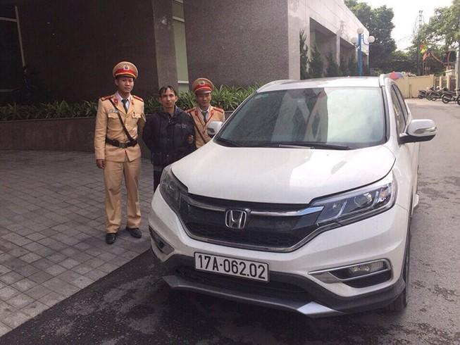 Bắt đối tượng trộm ô tô từ Thái Bình sang Quảng Ninh