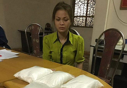 Nữ quái vận chuyển trái phép 4 kg ma túy bị bắt