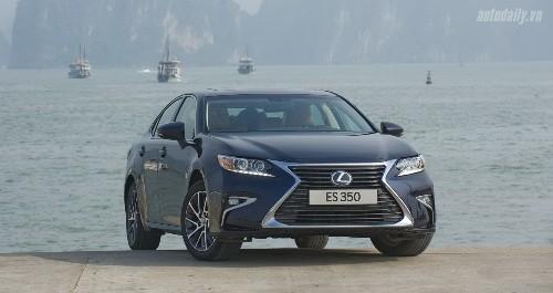 Toyota triệu hồi xe Lexus ES 250, ES 350 và Camry 2.0E