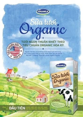 Xu hướng dinh dưỡng mới từ sữa hữu cơ Organic