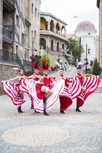 Tuần lễ văn hóa 'Một thoáng nước Pháp' tại Bà Nà Hills