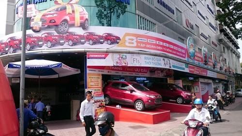 Cơ hội trúng xe Ford Ecosport tại Nguyễn Kim