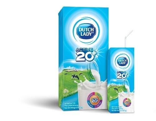 Ra mắt sữa Cô Gái Hà Lan Active 20+™