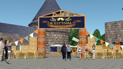 Thưởng thức bia miễn phí tại lễ hội bia Bà Nà Hills